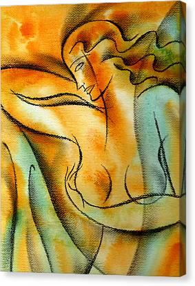 Observation Canvas Print by Leon Zernitsky