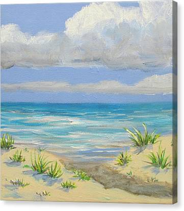 Obx Dune Canvas Print by Anne Marie Brown