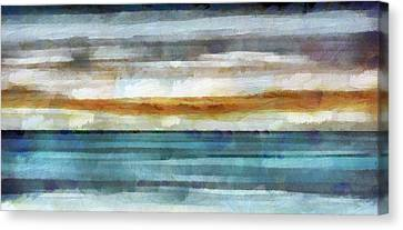 Ocean 1 Canvas Print by Angelina Vick