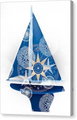 Ocean Blue Canvas Print by Frank Tschakert