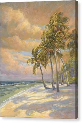 Ocean Breeze Canvas Print by Lucie Bilodeau