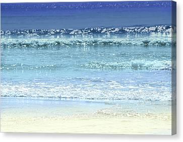 Ocean Colors Abstract Canvas Print by Elena Elisseeva
