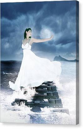 Siren Canvas Print by Ester  Rogers