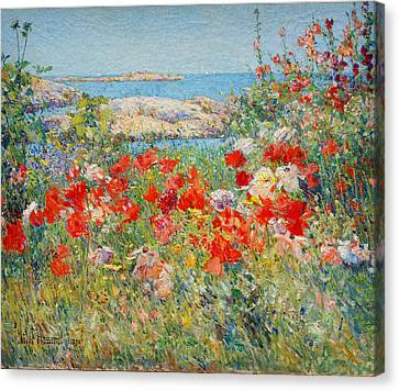 Ocean View Canvas Print by Childe Hassam