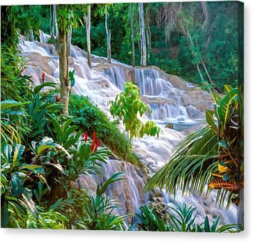 Ocho Rios Jamaica Canvas Print by Cliff Wassmann