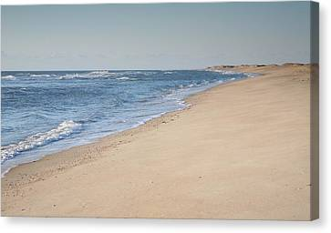 Ocracoke Beach Canvas Print by Steven Ainsworth