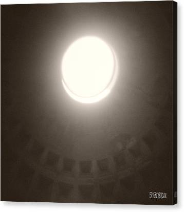 Oculus Pantheon Canvas Print by Beverly Brown