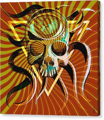Ocupus Remix Canvas Print by Steve Hartwell