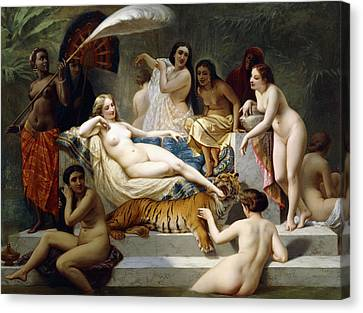 Odalisque Canvas Print by Henri Pierre Picou