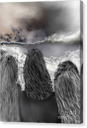 Of The Sea Canvas Print by Ruth Clotworthy