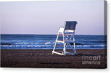 Off Duty Canvas Print by John Rizzuto