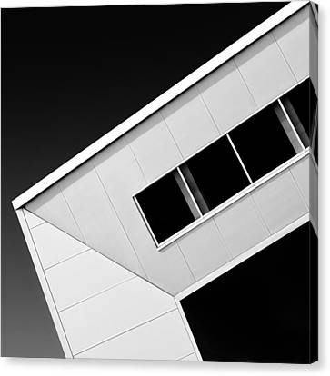 Office Corner Canvas Print by Dave Bowman