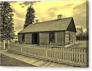 Officers Quarters Version 1 Canvas Print by Brenton Cooper