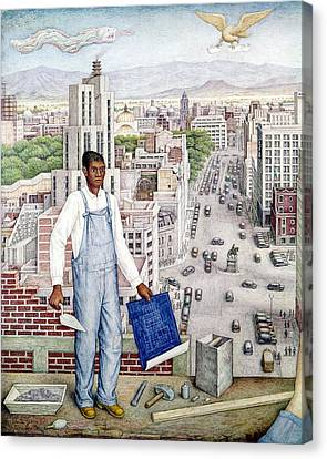Ogorman: City Of Mexico Canvas Print by Granger
