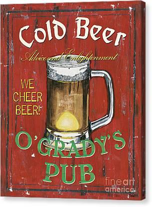 O'grady's Pub Canvas Print by Debbie DeWitt