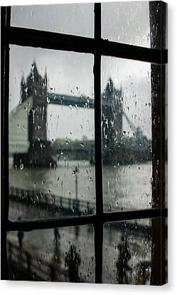 Oh So London Canvas Print by Georgia Mizuleva