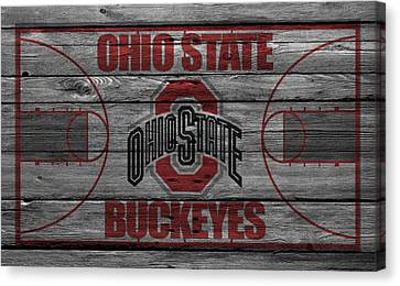 Ohio State Buckeyes Canvas Print by Joe Hamilton