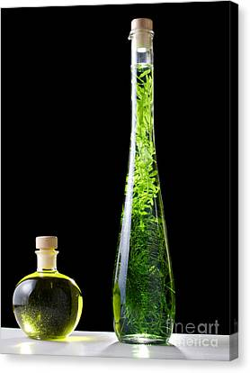 Oil And Alcohol Canvas Print by Sinisa Botas
