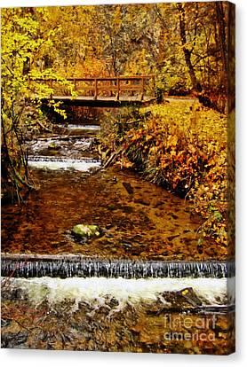 Okanagan Autumn Canvas Print by Kathy Bassett