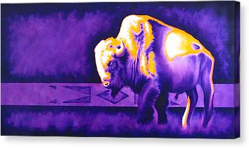 Ol' Bull Canvas Print by Robert Martinez