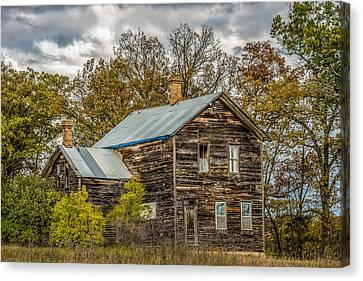 Old Abandoned House Canvas Print by Paul Freidlund