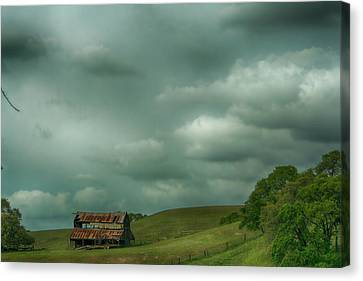 Old And Lonely Canvas Print by Laurie Search