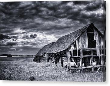 Old Barn Canvas Print by Ian MacDonald