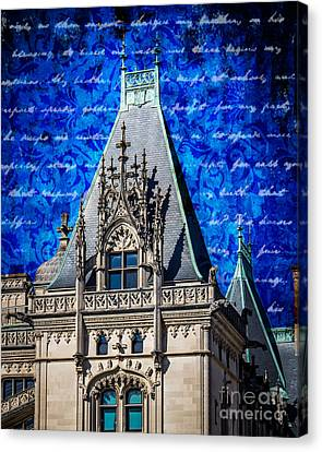 Old Biltmore  Canvas Print by Perry Webster
