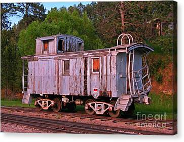 Old But Not Forgotten Canvas Print by John Malone