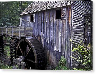Old Cades Cove Mill Canvas Print by Paul W Faust -  Impressions of Light