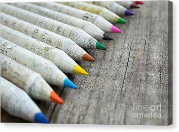 Old Chinese Pencil Canvas Print by Aged Pixel