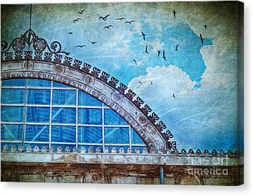 Old Deposit Detail Canvas Print by Silvia Ganora