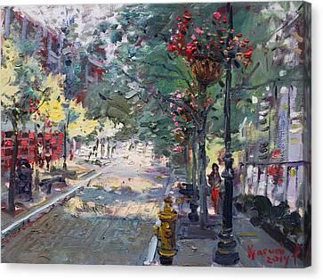 Old Falls Street Canvas Print by Ylli Haruni