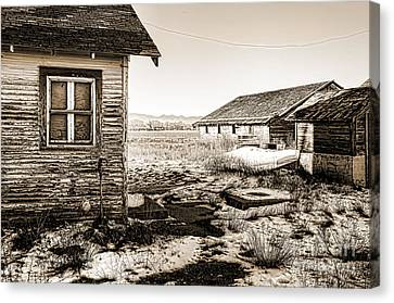 Old Farm Canvas Print by Baywest Imaging
