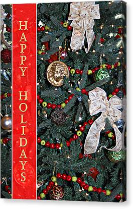 Old Fashioned Christmas Canvas Print by Carolyn Marshall