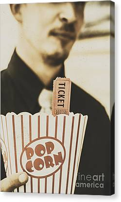 Old-fashioned Movies Canvas Print by Jorgo Photography - Wall Art Gallery
