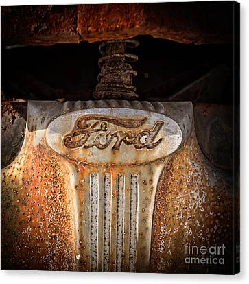 Old Ford Canvas Print by Edward Fielding