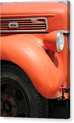 Old Ford Pickup Canvas Print by Harold E McCray