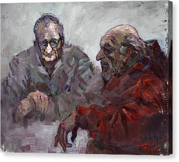 Old Friends Canvas Print by Ylli Haruni
