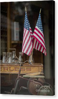 Old General Store Window Canvas Print by Edward Fielding