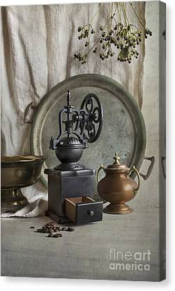 Old Grinder Canvas Print by Elena Nosyreva