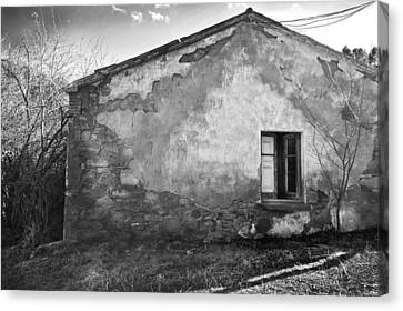 Old House Canvas Print by Gina Dsgn