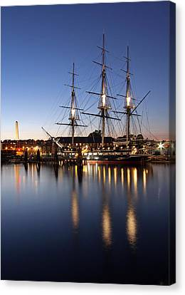 Old Ironsides Canvas Print by Juergen Roth