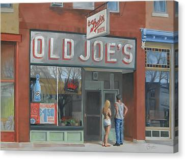 Old Joe's Canvas Print by Todd Baxter