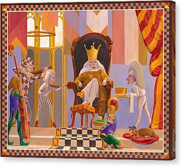 Old King Cole Canvas Print by Leonard Filgate