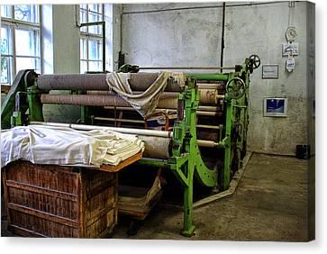 Old Machinery Canvas Print by Christine Czernin-Morzin