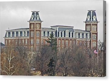 Old Main Canvas Print by Iris Page