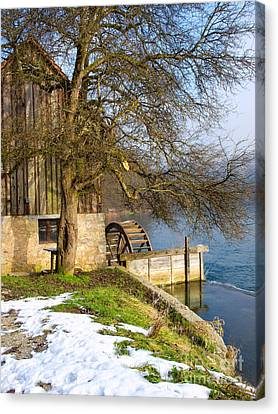 Old Mill Canvas Print by Sinisa Botas