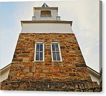 Old Organ's Steeple Canvas Print by Rene Barger