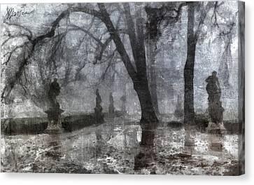 Old Park Canvas Print by Marina Likholat